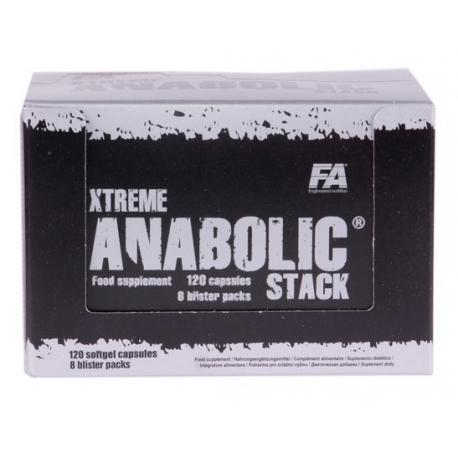 FA Nutrition Xtreme Anabolic Stack - 120 kaps.