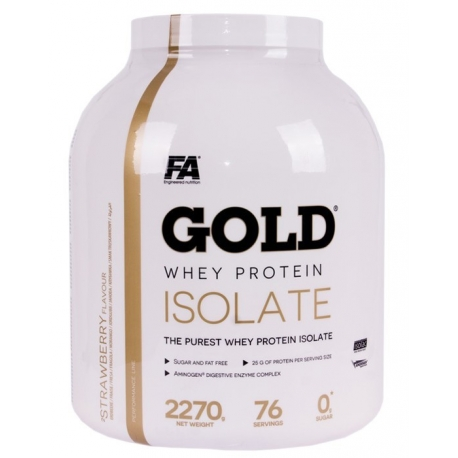 FA Gold Protein Isolate 2270g.