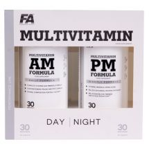 FA MultiVitamin AM + PM FORMULA - 180 kap. dzień+noc. Typowo Sportowe
