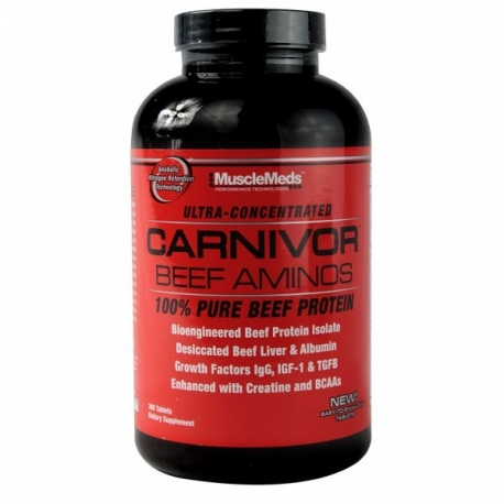 MuscleMeds Carnivor Beef Amino - 300 tabl.