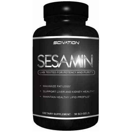 Scivation Sesamin 500mg 90 caps