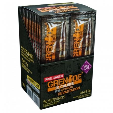 Grenade 50 Calibre Pre-Loaded
