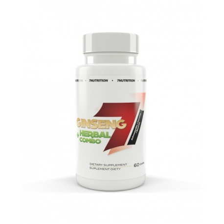 7 Nutrition Ginseng + Herbal combo 60 kaps.