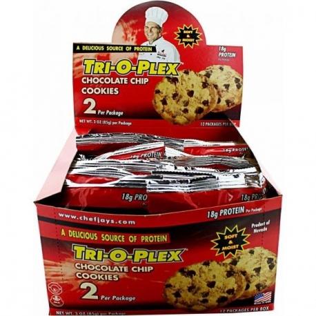 Chef Jays Tri o Plex Prot Cookie 85g