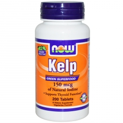 Now Foods Kelp 150 mcg [JOD] - 200 tabl.