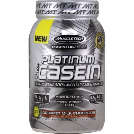 Muscletech Essential Platinum 100% Casein 900g.
