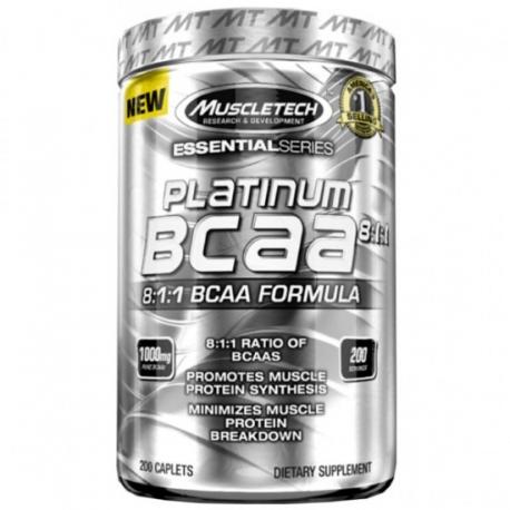 Muscletech Platinum BCAA 200 kaps.