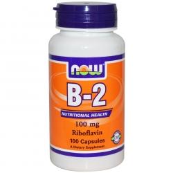 Now Foods Vitamin B-2 100mg 100 tab.