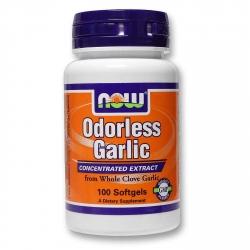 Now Foods Odorless Garlic Original 100 kaps. Czosnek