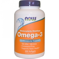 Now Foods Omega 3 200 kaps.