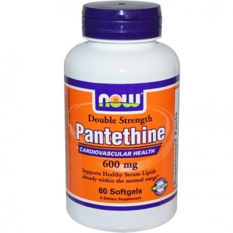 Now Foods Pantethine 300mg 60 kaps. wit. B5