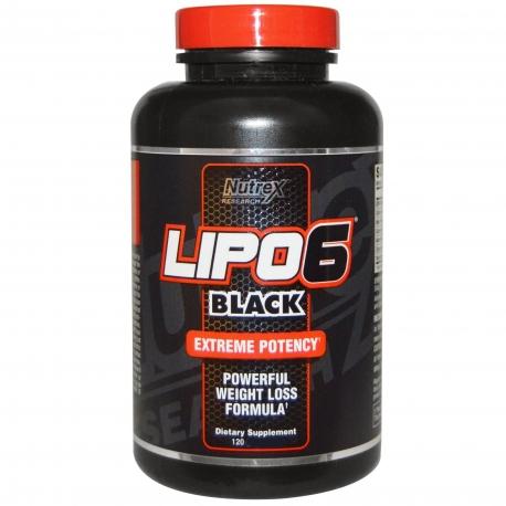 Nutrex Lipo 6 black 120g.