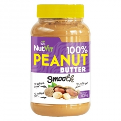 NutVit 100% Peanut Butter 500g Smooth