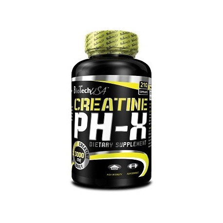 BioTech USA Creatine pH-X 210 kaps