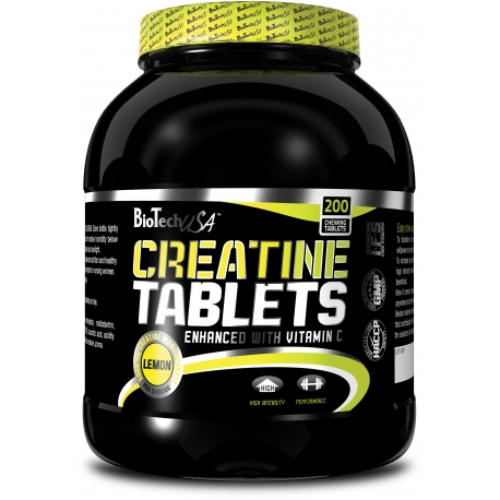 Bio Tech USA Creatine - 200 tabl [1000mg/1kaps]