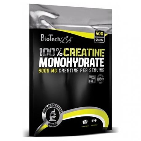 Bio Tech Creatine Monohydrate - 500 g (folia)