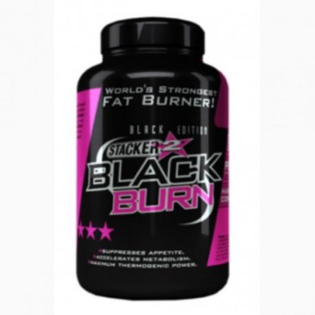 NVE Stacker Black Burn - 120kaps