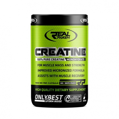 Real Pharm Creatine - 300 caps.