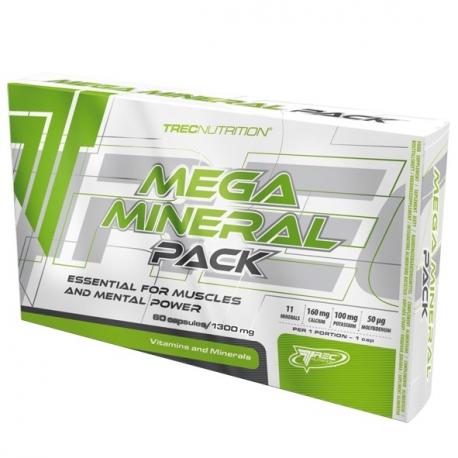 TREC Mega Mineral Pack - 60 tabl