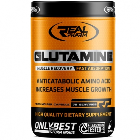 Real Pharm Glutamine - 300 caps.