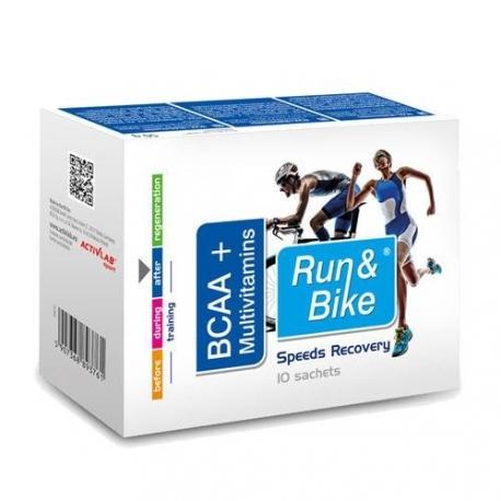 Activlab Run&Bike Bcaa + Multivitamins - 10 sasz PROMOCJA