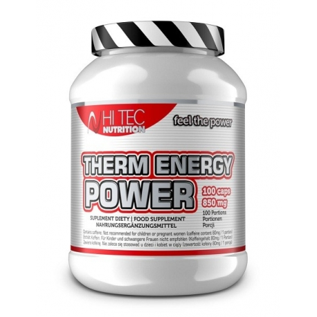 Hi Tec Therm Energy Power - 100 kaps.