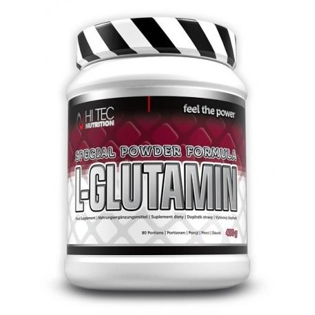 HI TEC - L-glutamin - 400 g