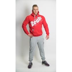 """Real Wear Bluza """"Sztanga"""" Czerwona"""