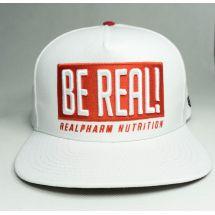"Real Wear Czapka ""Be Real"" Biała"