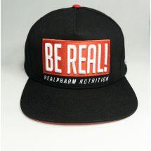 """Real Wear Czapka """"Be Real"""" Czarna"""