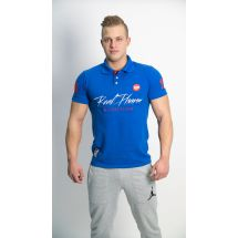 Real Wear Polo Niebieski