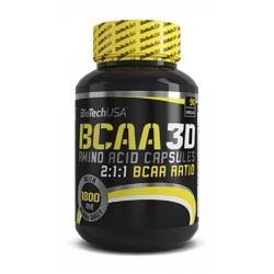 Bio Tech USA BCAA 3D - 90 kaps