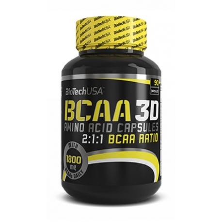 Bio Tech USA BCAA Nano 3D - 90 kaps