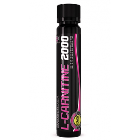 Bio Tech 2000mg L-Carnitine 25ml