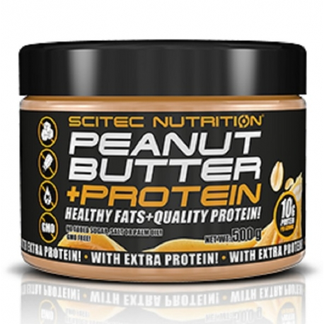 Scitec 100% Peanut Butter Smooth 500g