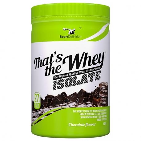 Sport Definition Isolate 600g