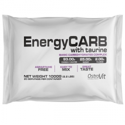 Ostrovit Energy carb + taurine 1000g