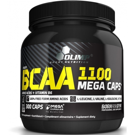 Olimp BCAA Mega Caps - 300 kaps
