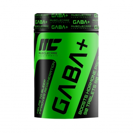 Muscle Care GABA Plus 90 tabs