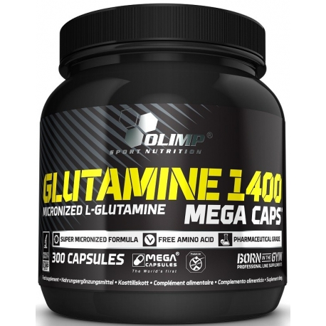 Olimp Glutamine Mega Caps - 300 kaps.