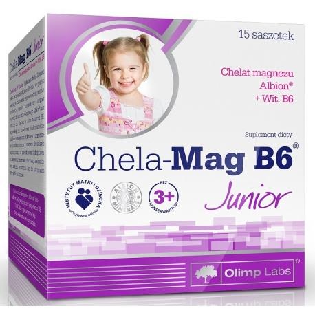 Olimp CHELA-MAG B6® JUNIOR - SASZETKI 15 szt.