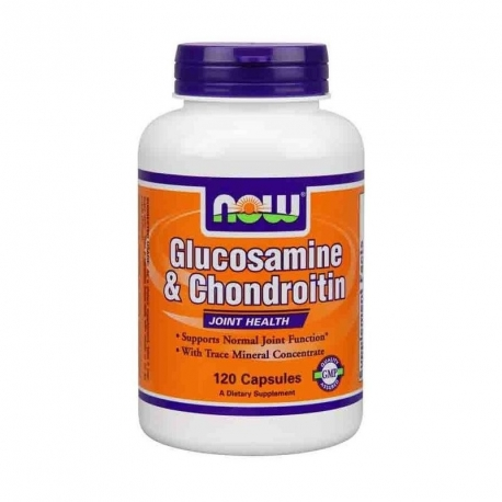 Now Foods Glucosamine Chondroitin 120 caps.