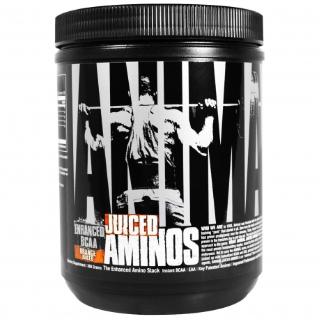 Universal ANIMAL AMINO JUICE Strowberry Lim 368g