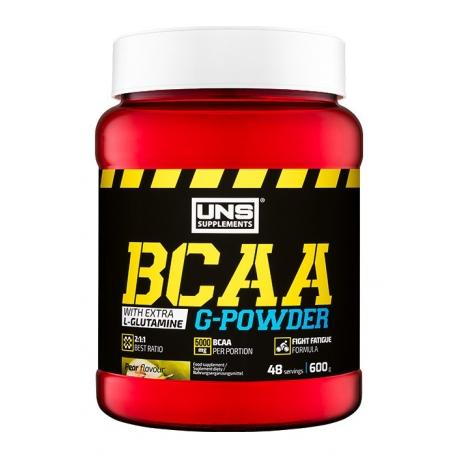 UNS BCAA G-Powder - 500g [BCAA+Glutamina]