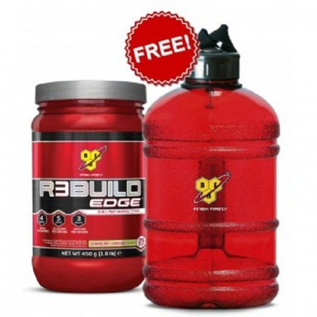 BSN Rebuild Edge 450g Fruit Punch+BSN Waterbottle