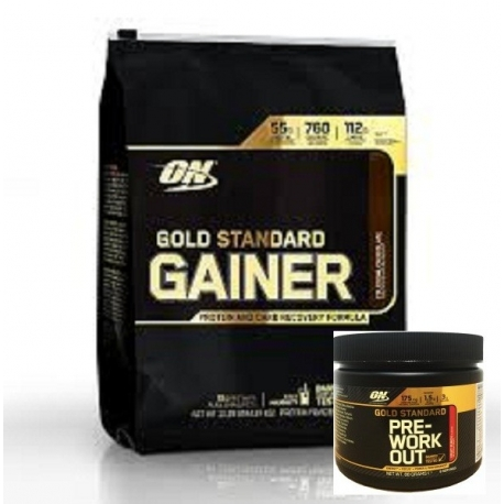 Optimum GS Gainer 1,624kg + PreWorkout 88g GRATIS!