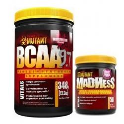 PVL Mutant Bcaa 9.7 1040g + Madness 65g GRATIS!
