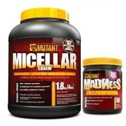 PVL Mutant Micellar Casein 1800g +Madness 65g GRATIS!