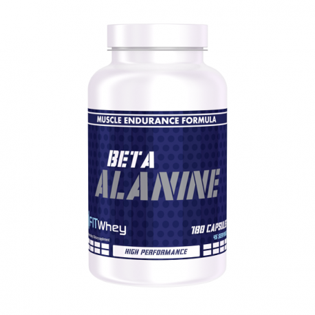 Fit Whey Beta Alanine 180 caps