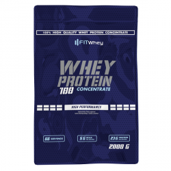 Fit Whey Whey Protein 100 Concentate 2000g